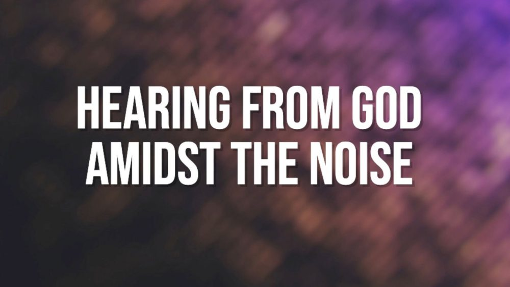 Decision Making and hearing from God